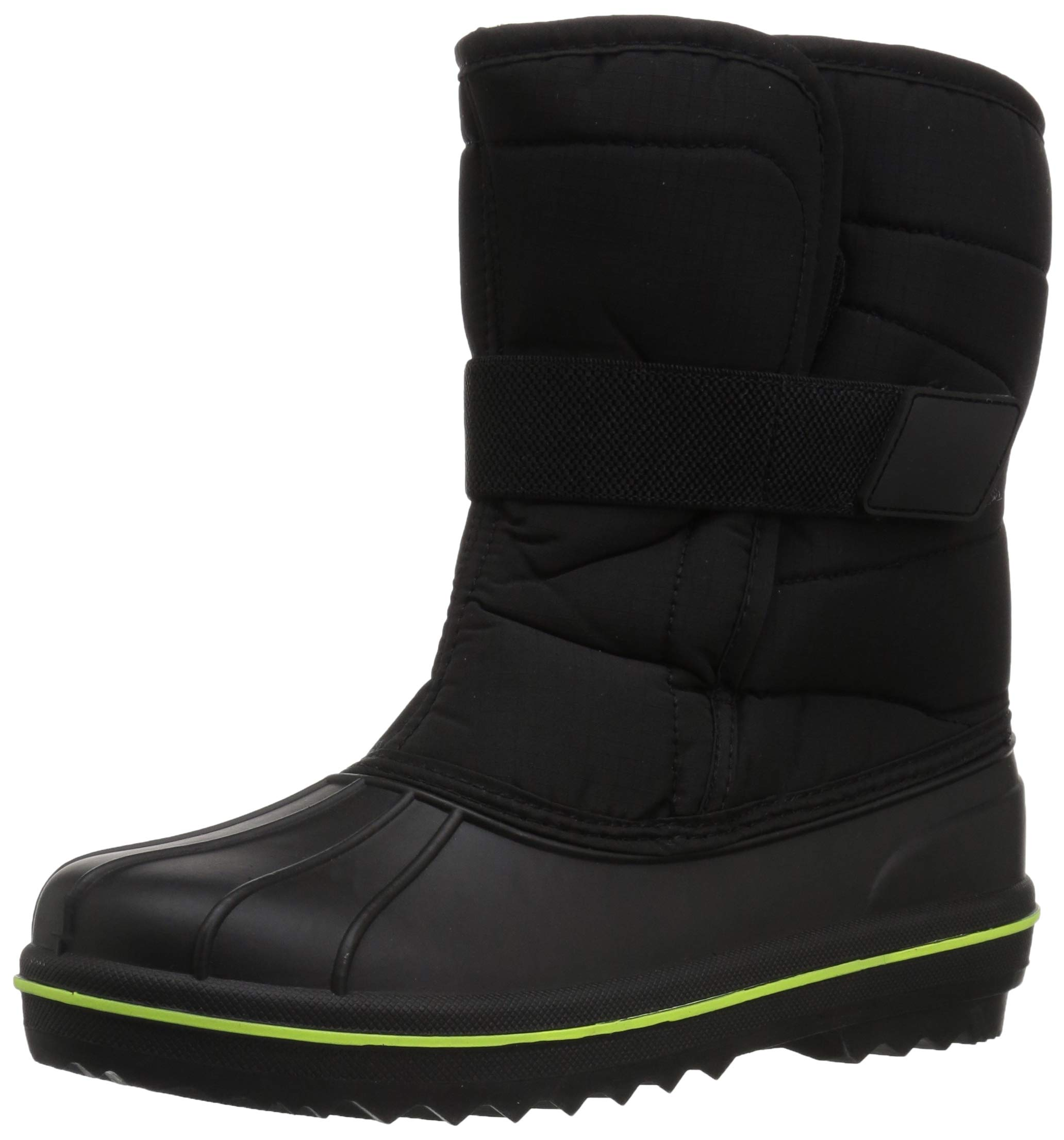 The Children's Place Boys Snow Boot, Black, TDDLR 10 Child US Toddler