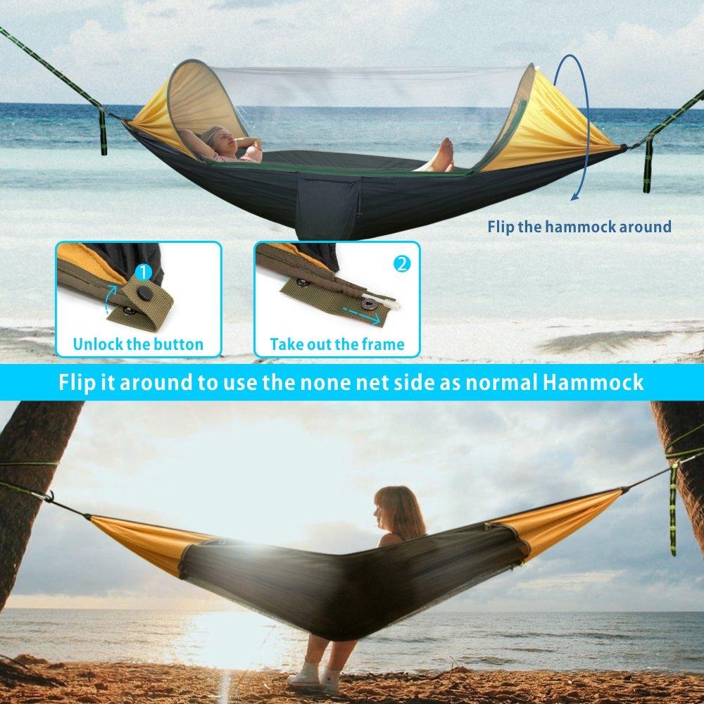 hammock polyester outdoor chair spun jumbo with amazon soft cream caribbean inch com dp woot footrest garden