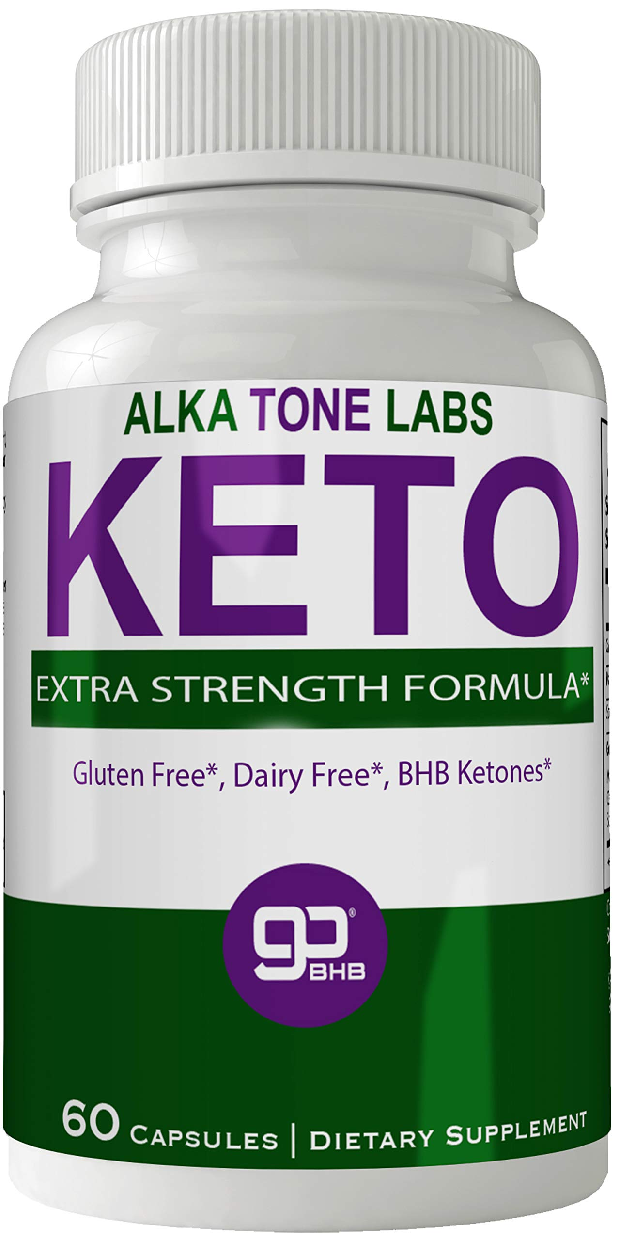 Alkatone Labs Keto BHB Weight Loss Pills, Advanced Natural Ketogenic Burn Fat Supplement, 800 mg Formula with New True Slim GO BHB Salts Formula, Advanced Appetite Suppressant Capsules ... by nutra4health LLC