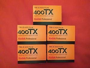 KODAK Tri-x 35mm 400tx 36 exposiciones 400asa Paquete de 5 Blanco y Negro película
