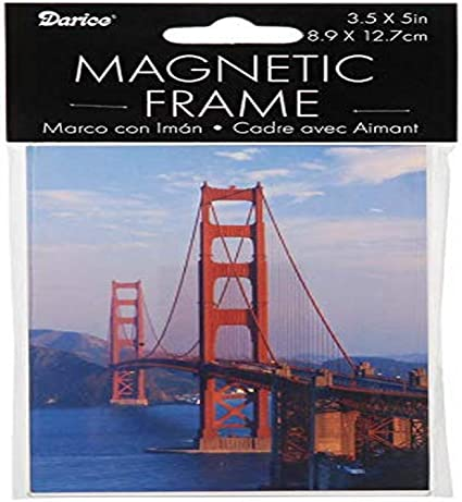 Magnetic Sign KFOR with Frame 45/x 12/cm
