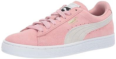1322a4553656 PUMA Women's Suede Classic Sneaker bridal rose-gray violet 5.5 ...