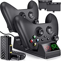 Charger Compatible with Xbox One Rechargeable Battery Packs for Xbox Series X|S & Xbox One/One X/One S/Elite Controllers