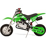 50cc Dirt Bike for Kids 61cm Mini Kids Dirt Bikes Air Cooled with Twistgrip, Throttle Restrictor Amazing Boys or Girls Kids MotoCross Scrambler Available in Red, Green, Orange, or Blue