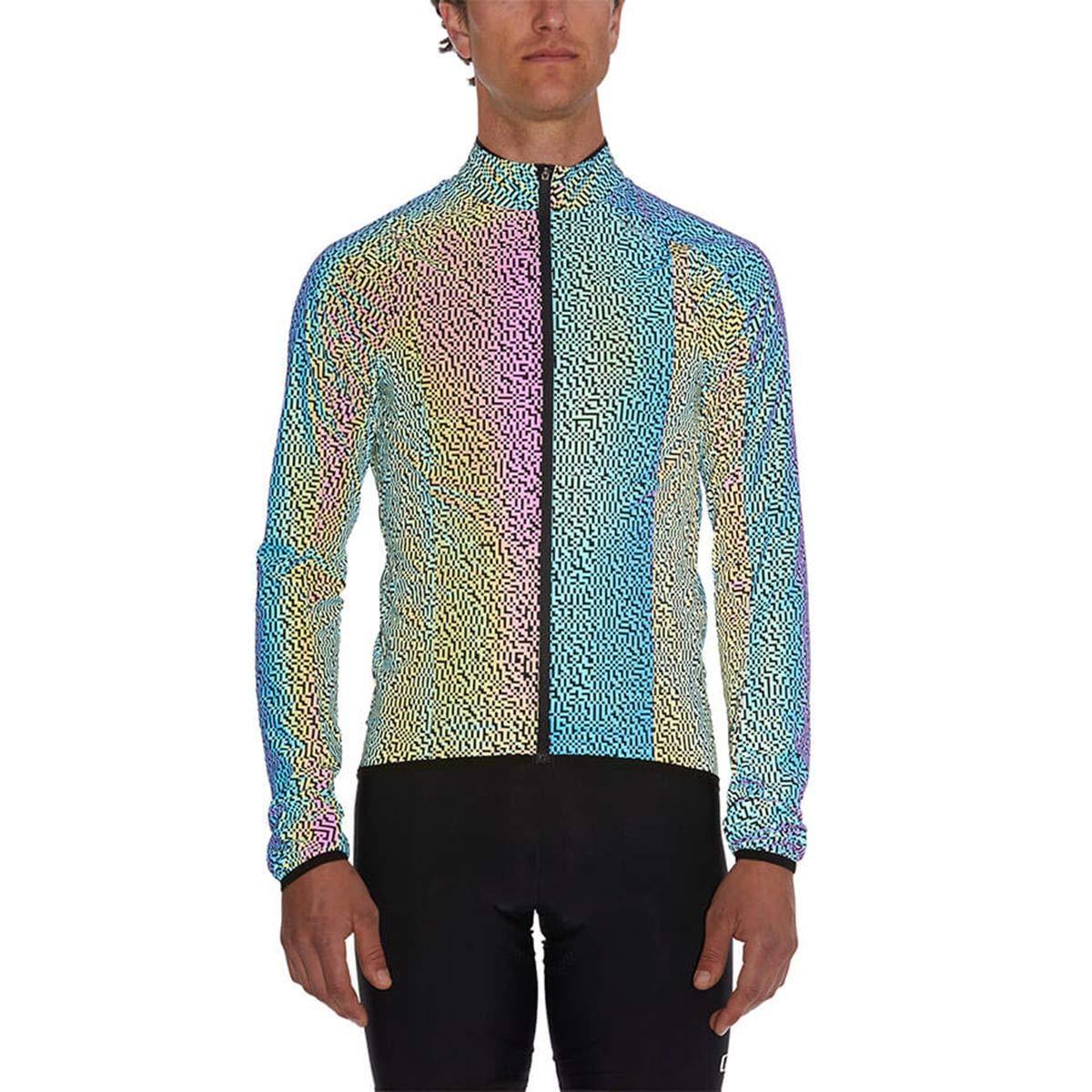 M Mens Electric Black Reflective Digi Giro Chrono Expert Reflective Wind Jacket