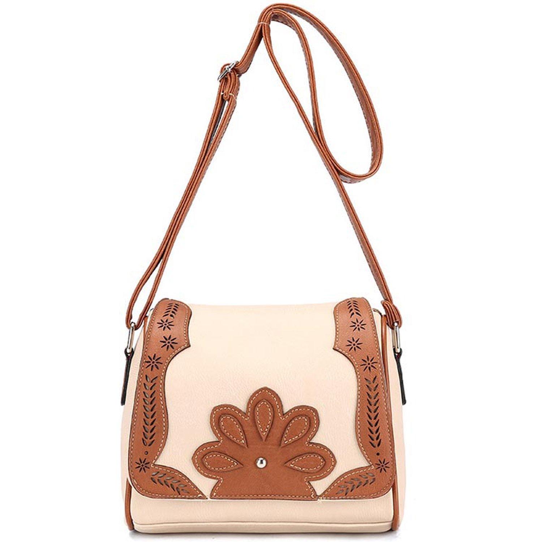 2018 New Arrival hollow out Women Messenger Bags Handbag PU Casual  patchwork Women s Bag Shoulder Bag 9e2fc957c9eb7