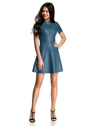 Amazon Leather Dress