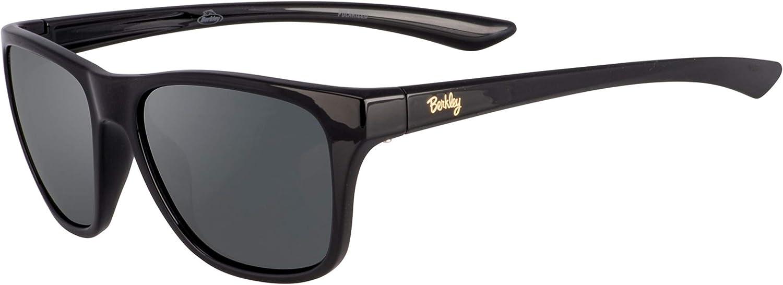 Berkley Ber005 Sunglasses Ber005 Polarized Women's Fishing Sunglasses, Gloss Black/Smoke