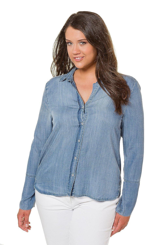 70b78ba3e74 Jean Button Up Shirt Plus Size - DREAMWORKS