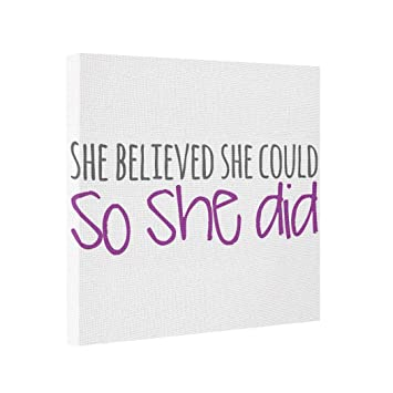 Amazoncom Butter Tisse Canvas Picture Frames She Believed She