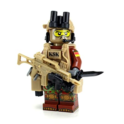 Battle Brick KSK Kommando Spezialkrafte German Special Forces Commando Custom: Toys & Games