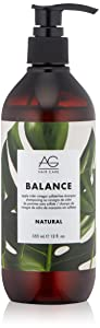 AG Hair Natural Balance Conditioner, Apple Cider Vinegar, 12 Fl Oz