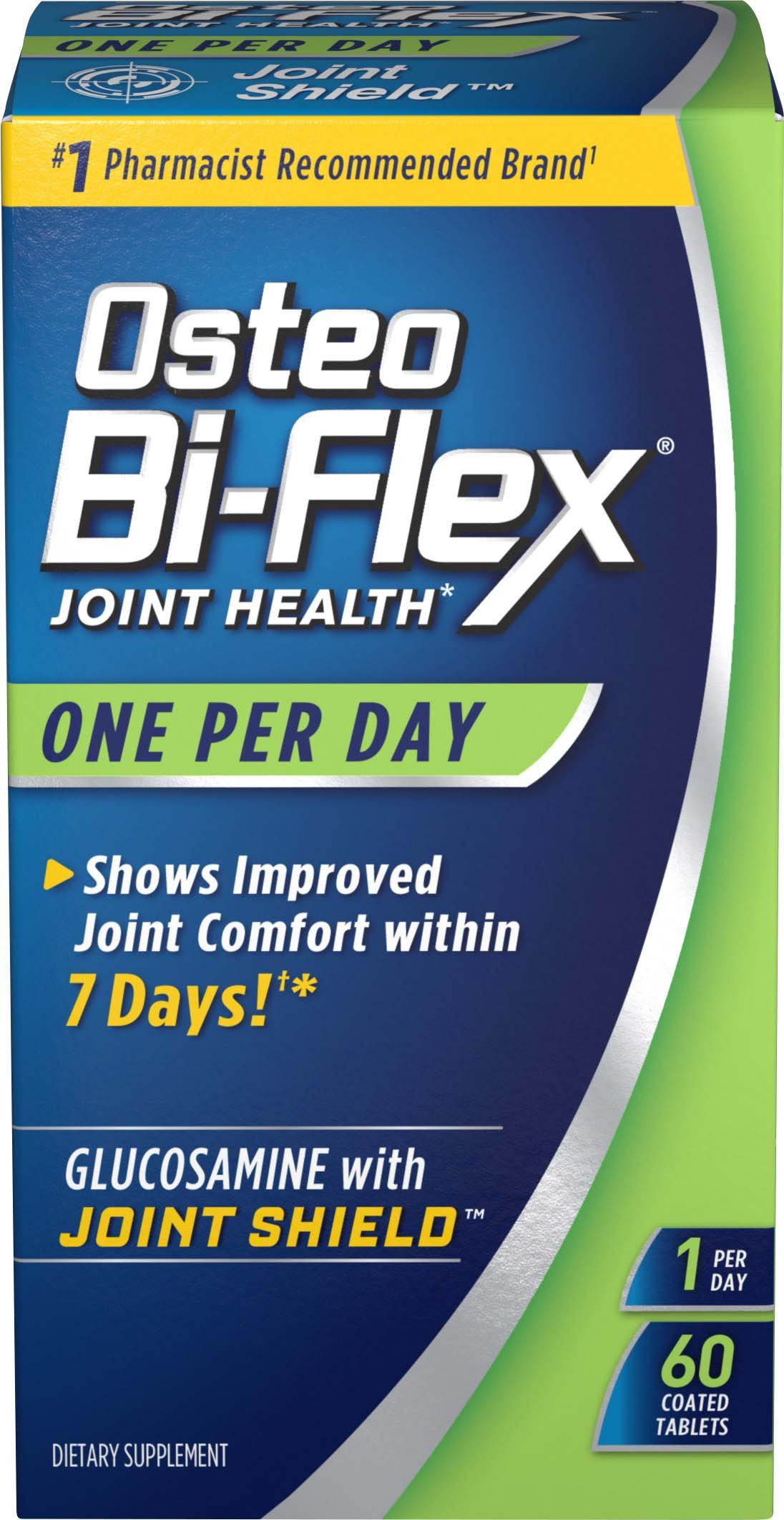 Osteo BiFlex One Per Day Glucosamine Joint Shield Dietary Supplement, Helps Strengthen Joints, 60 Count by Osteo Bi-Flex