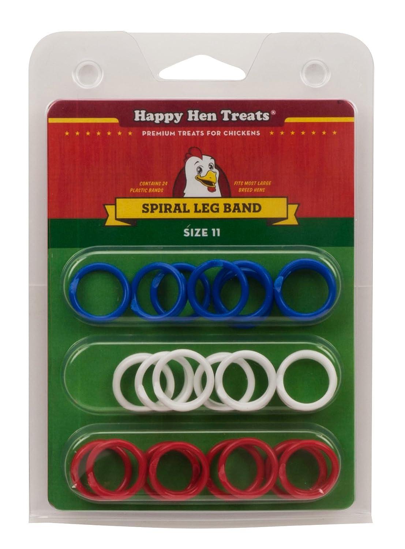 amazon com happy hen treats spiral leg bands for pets size 11