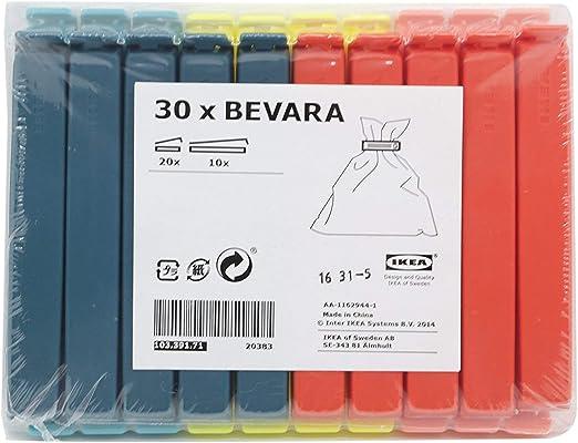 Amazon.com: IKEA 103.391.71 Bevara de sellado Clip, varios ...