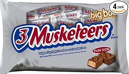3 Musketeers Mini Candy Bars