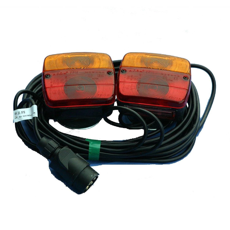 Magnetic Trailer Rear Towing Lightboard Lamps Lights Cluster Trailer Board Roadster