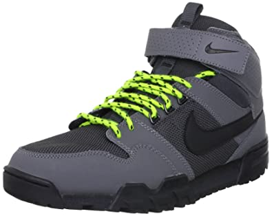 outlet store 1b63f 6e360 Nike Mogan Mid 2 OMS  535836-003 (8) Grey Black