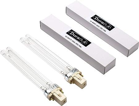 Durabulb Ersatz Uv Ultra Violet Lampe Fur Teich Uvc Filter Klarer 5 W 7 W 9 W 13 W Twin Pack 13w Amazon De Garten