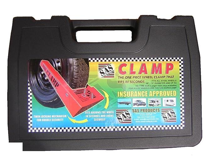 SUPSILVB SAS Supaclamp Duo Silver Clamp Only