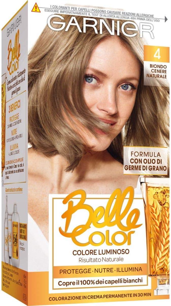BELLE COLOR 4biondo cenere naturale - Tintes para el cabello ...