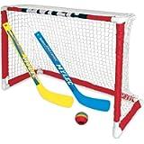 NEW Zetterberg Mylec Pro Style Mini Hockey Goal Set, White, 30.5'X23'