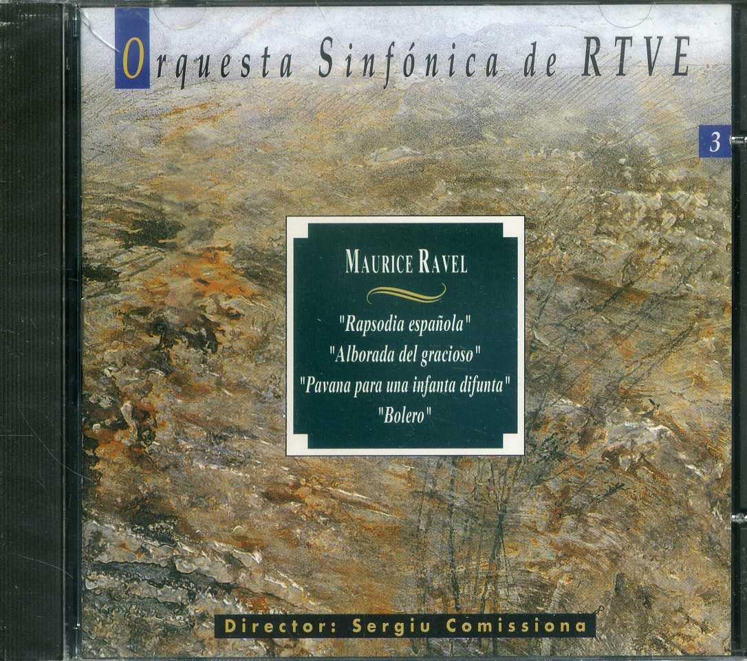 Ravel: Rapsodia Espanola; Alborada Del Gracioso; Pavana; Belero (A-124)