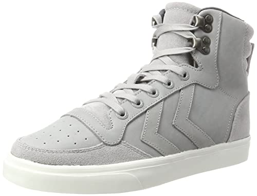 eb09355a338088 Hummel Unisex-Erwachsene Stadil Winter Hohe Sneaker Grau (Alloy) 42 EU