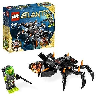 LEGO Atlantis Monster Crab Clash 8056: Toys & Games