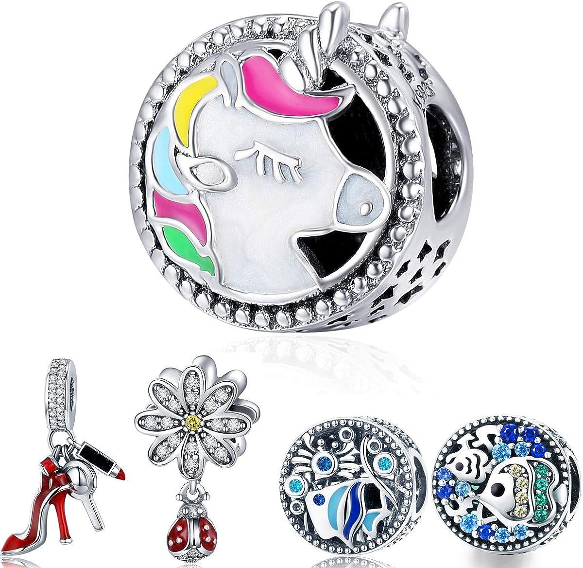 WOSTU Silver Charms 925...