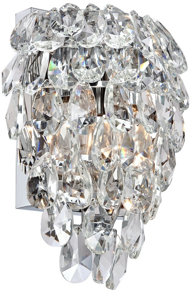 Carriere 9 3/4'' High Crystal Wall Sconce