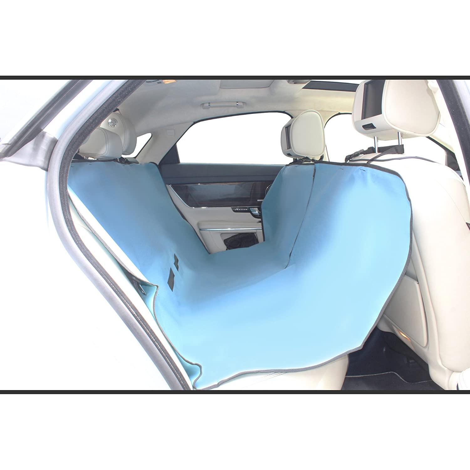 Blue Ukayed UKayed05814 Pet Dog Seat Cover Heavy Duty Protective Rear Car Seat /& Boot Waterproof Pet Cover Protector Hammock