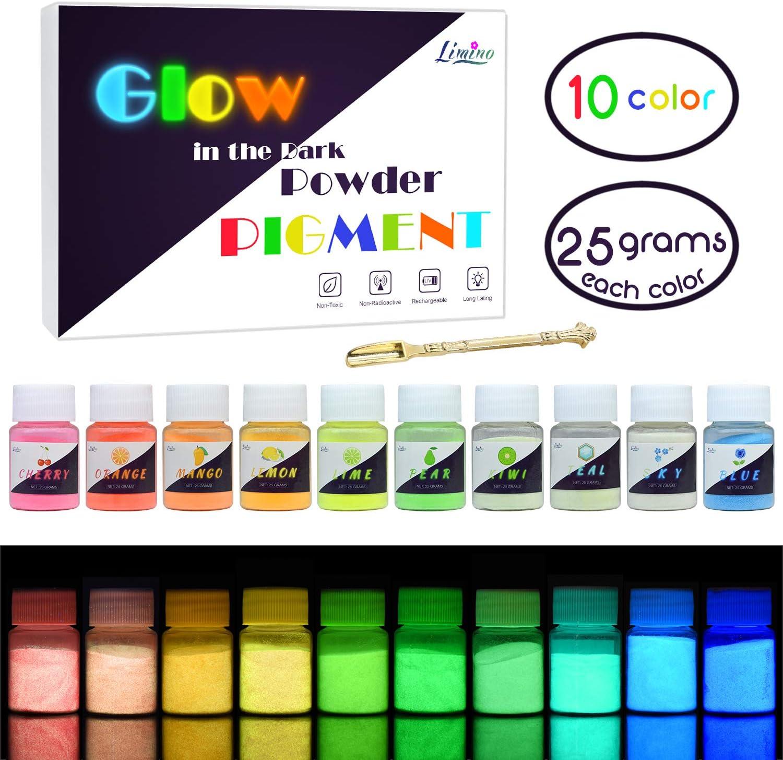 10g 12 Colors Luminous Powder Resin Pigment Dye  Resin Epoxy DIY Making Tool