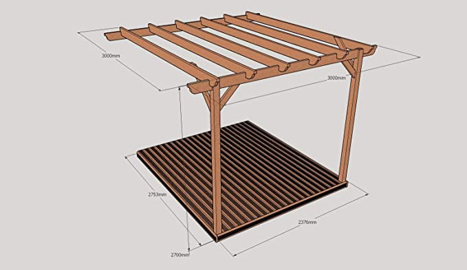 Rutland County Garden Furniture Montado en la Pared Kit de ...