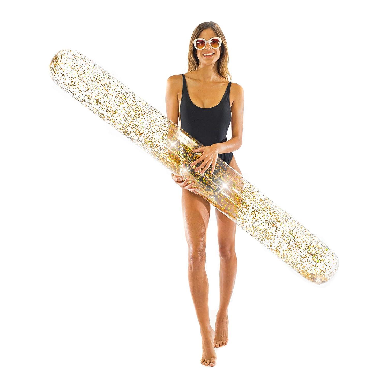 PoolCandy Gold Glitter Super Noodle