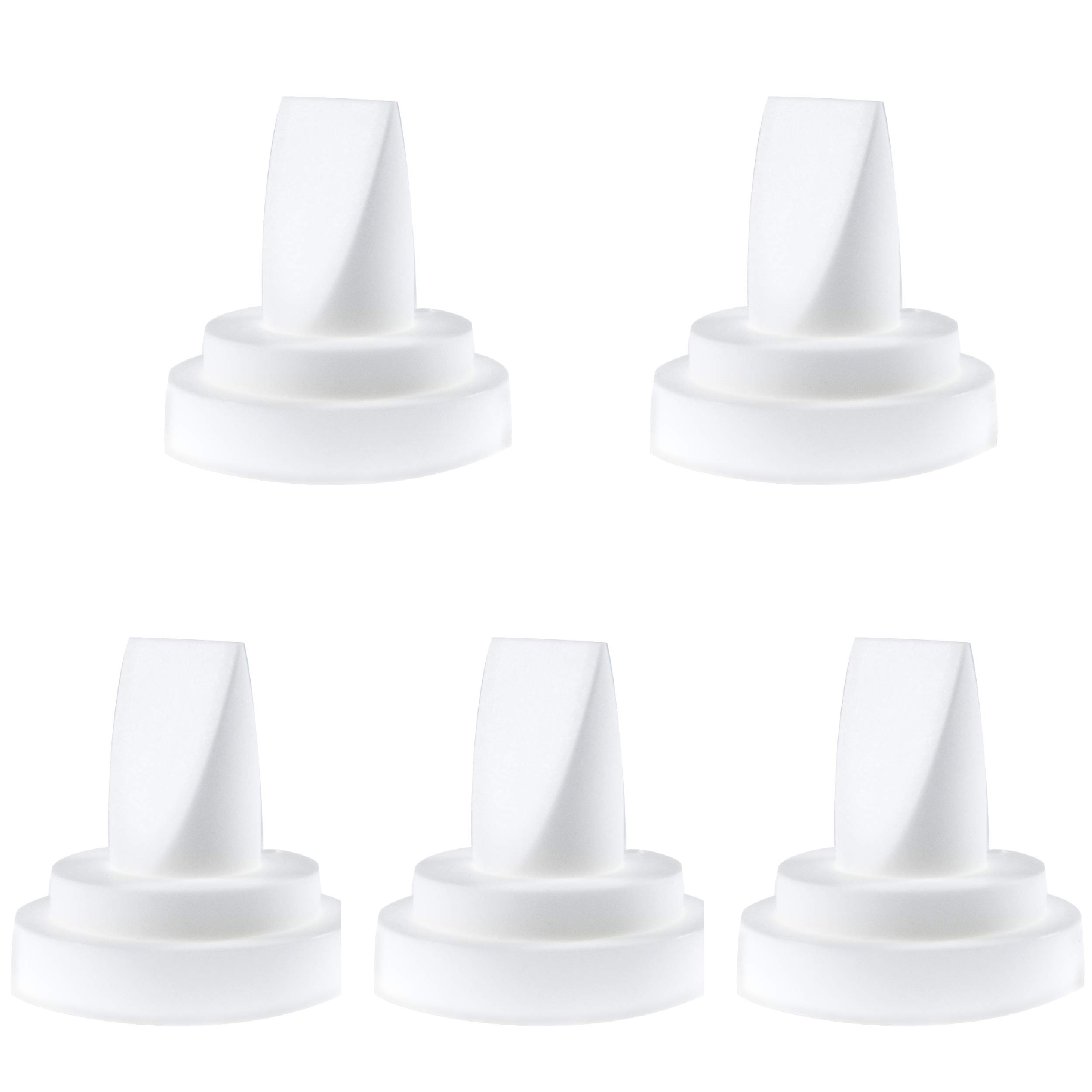 Nenesupply 5 pc Compatible Duckbill Valves for Spectra S1 Spectra S2 and Medela Pump In Style Not Original Spectra S2 Accessories Replaces Spectra Duckbill Valve and Medela Duckbill Valve