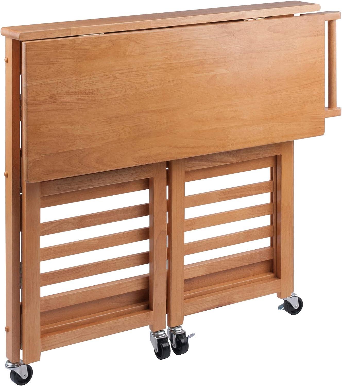 Winsome Radley Kitchen Cart, Light Oak