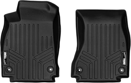 S4 SMARTLINER Floor Mats 2 Row Liner Set Black for 2017-2018 Audi A4 A4 All-Road