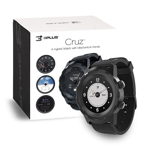 Amazon.com: 3Plus Cruz Hybrid Smart Watch with Heart Rate ...