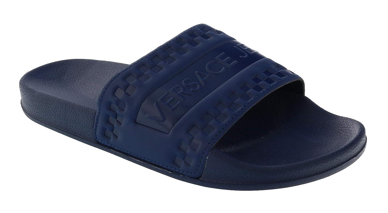 Versace Jeans Slider Sandals Navy