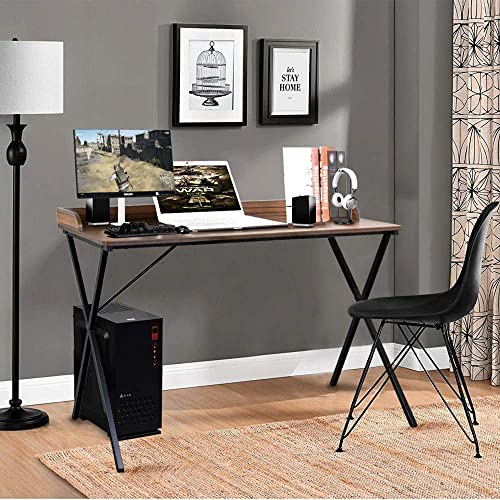 Aingoo Computer Desk 47'' Sturdy Study Simple Style PC Laptop Notebook Writing Desk