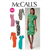 McCall Pattern Company M6886 Misses' Dresses Sewing Template, Size E5 (14-16-18-20-22)