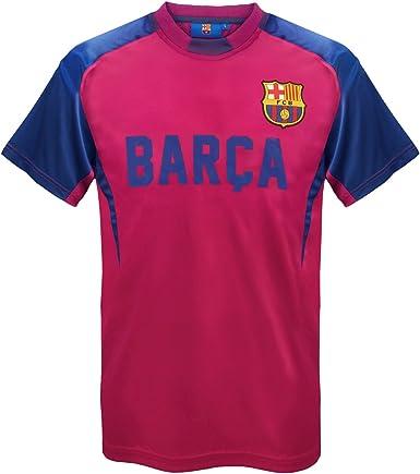 FC Barcelona - Camiseta oficial para entrenamiento - Para hombre - Poliéster: Amazon.es: Ropa y accesorios