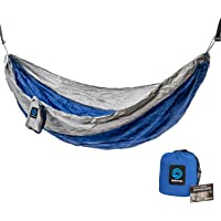Wildhorn Outpost Double/Single Portable Camping Hammock with Cinch Buckle Tree Straps
