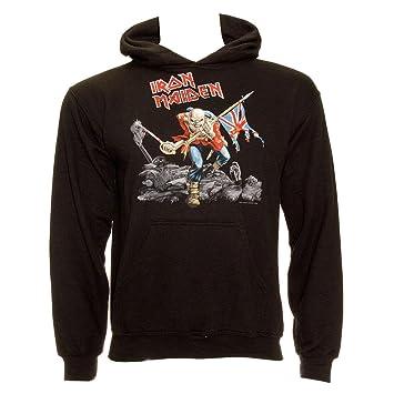 Amazon Com Iron Maiden Men S Trooper Hoodie Clothing