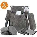 Prosmart Car Wash Cleaning Kit - Set of 9 Pieces
