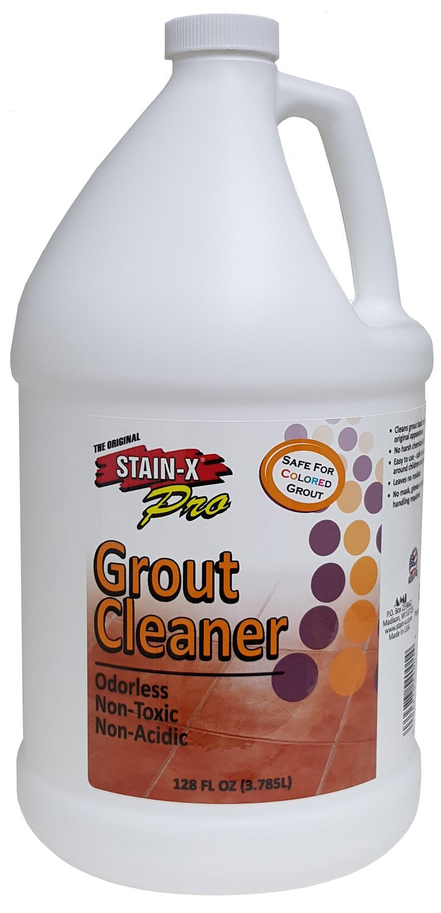 STAIN-X PRO Grout Cleaner - 128 oz (54001)