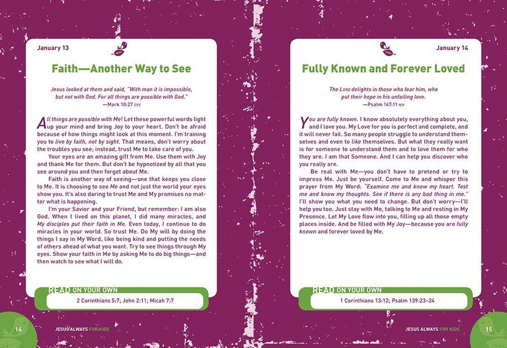 Jesus Always: 365 Devotions for Kids (Jesus Calling)