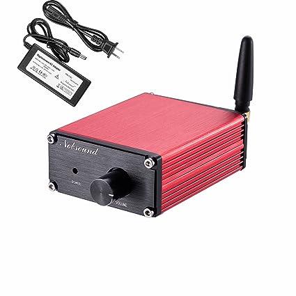 cc1e0a9e868d60 Nobsound 100W (50W x 2) Bluetooth 4.2 Mini Digital Amplifier Stereo Hi-Fi