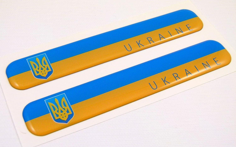 Ukrainian TRYZUB TRIDENT Vinyl Decal Sticker Car Boat Helmets Window Wall Laptop